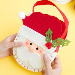 크리스마스 퀼트 펠트 가방