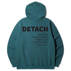 HRL-845 DETACH 오버핏 후드티