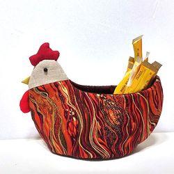 [D.I.Y] 퀼트 닭 바구니 만들기