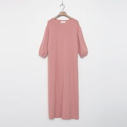 Raccoon Wool Long Dress - 5부소매