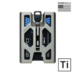 [고보] T4 티타늄 배지 홀더 지갑