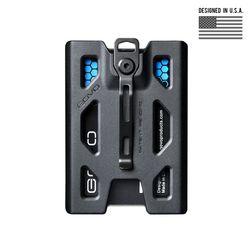고보 T4 폴리카보네이트 배지 홀더 지갑 (블랙)