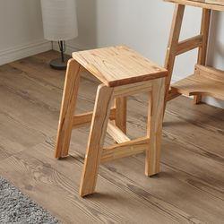 레일라 원목 화장대 의자
