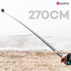 고프로 액션캠 셀카봉 롱 모노포드 270cm