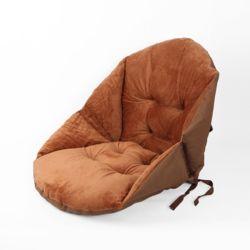 쿠지 의자 등받이방석(브라운)