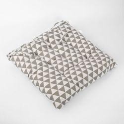 쿠지 삼각 사각방석(그레이)
