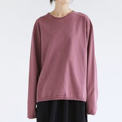 vintage layer sweatshirts (purple)