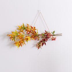 가을 단풍 가랜드 인테리어 조화 벽장식 갈란드