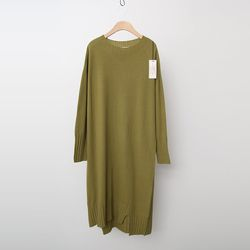 Laine Cashmere Wool Unbal Dress