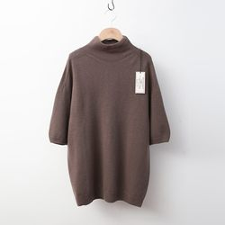 Laine Cashmere Wool Turtleneck - 반팔