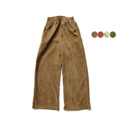 CORDUROY WIDE PANTS 코듀로이 와이드 팬츠(4color)