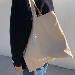SLST logo bag ( beige )
