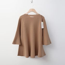 Laine Cashmere Wool Flare Sweater