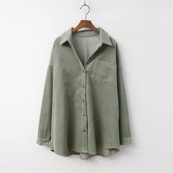 Corduroy Pocket Shirts