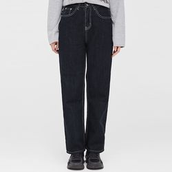 vivo stitch line denim pants (s m)