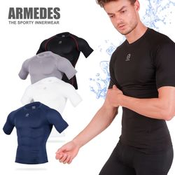 아르메데스 기능성 언더레이어 반팔 R-131 쿨 티셔츠