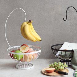 바나나걸이 과일 간식보관 바구니