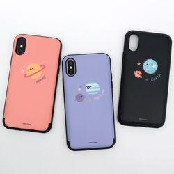 나인어클락 유니버셜 카드슬롯 케이스 - 갤럭시S8