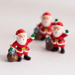 선물 산타 미니어처 3개
