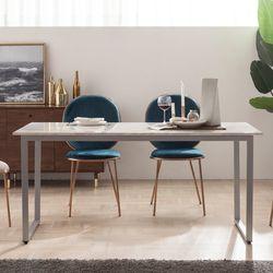 엠마 대리석 4인용 식탁 테이블 1600 (리퍼브)