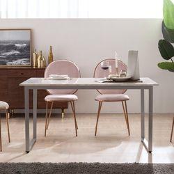 엠마 대리석 4인용 식탁 테이블 1400 (리퍼브)