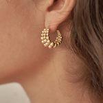 813 EARRINGS [GOLD]