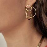 816 EARRINGS [GOLD]
