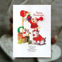 크리스마스카드 FS1031-4