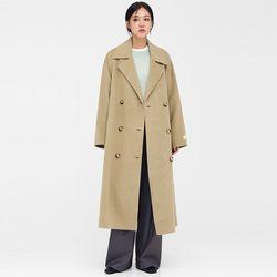 knock double wool handmade coat