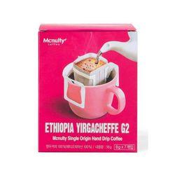 맥널티 에티오피아 예가체프 G2 핸드드립 커피백 1박스 8개