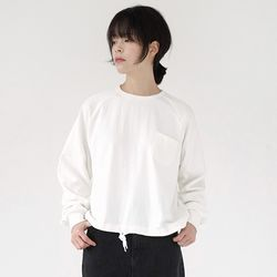 string point sweatshirts (3colors)