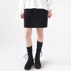 corduroy mini skirts (2colors)