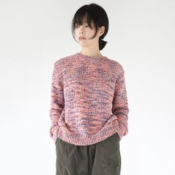funky color knit top (3colors)