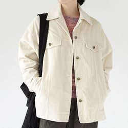 cozy pocket corduroy jacket