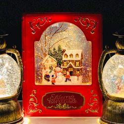 크리스마스 스노우볼 워터볼 무드등 인테리어 소품
