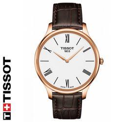 [TISSOT] 티쏘 T063.409.36.018.00 가죽밴드 시계