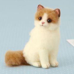 니들펠트 하마나카 아크레루 랙돌 고양이 키트
