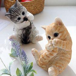 꼬리잡은 고양이 2color