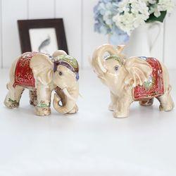 장식 코끼리 2P세트