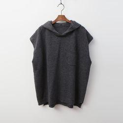Wool Hooded Vest