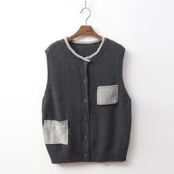 Wool Pocket Vest