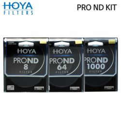 HOYA 77mm PRO ND FILTER KIT 8/64/1000 ND필터 /K