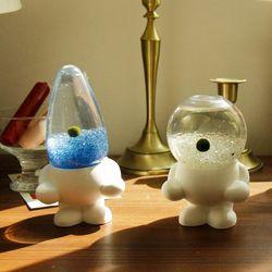 마리돌 컬러링 키우는 석고방향제 국산 마리모  DIY세트(소)