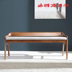 다윈 고무나무 원목 3인 식탁 벤치의자