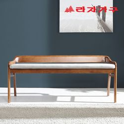 다윈 고무나무 원목 2인 식탁 벤치의자