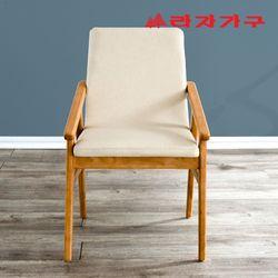 쿠쿨 원목 식탁 의자