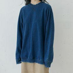vintage denim sweatshirts (navy)