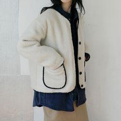 non-collar bush jacket (3colors)