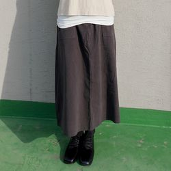 easily a-line long skirts (3colors)