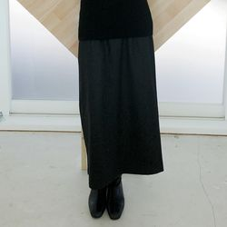 two pocket detail wool skirts (2colors)